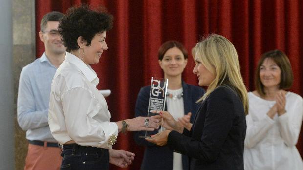 Ireni Mišović nagrada Duga: Podržala sam svoje dete