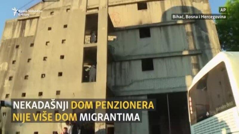 Iseljavanje migranata iz centra Bihaća