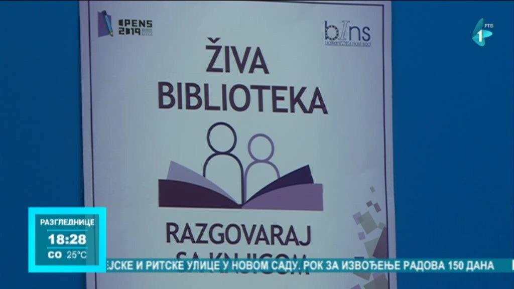 Iskustvo volontiranja pri Živoj biblioteci