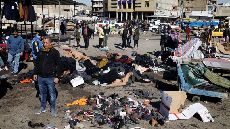 Islamska dražva preuzela odgovornost za napad bombaša samoubica u Bagdadu