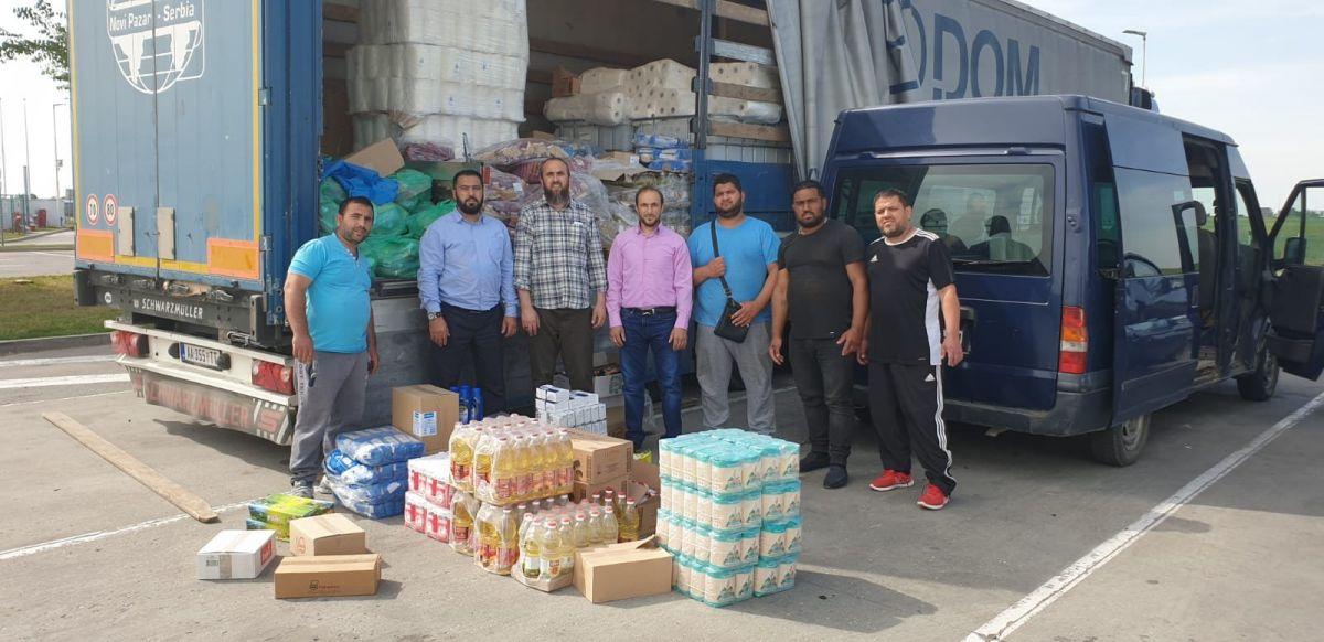 Islamska zajednica nastavlja podjelu humanitarnih paketa