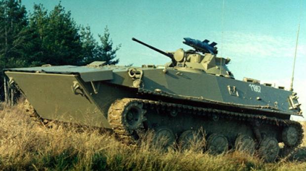 Ispitivanje borbenosti vozila pešadije BVP M-80A u noćnim uslovima