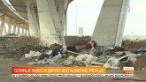 Ispod tek otvorene Batajničke petlje - deponija VIDEO
