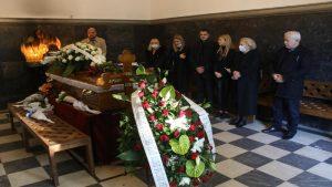 Ispraćaj Dušana Mitrovića, direktora Danasa, održan na Novom groblju