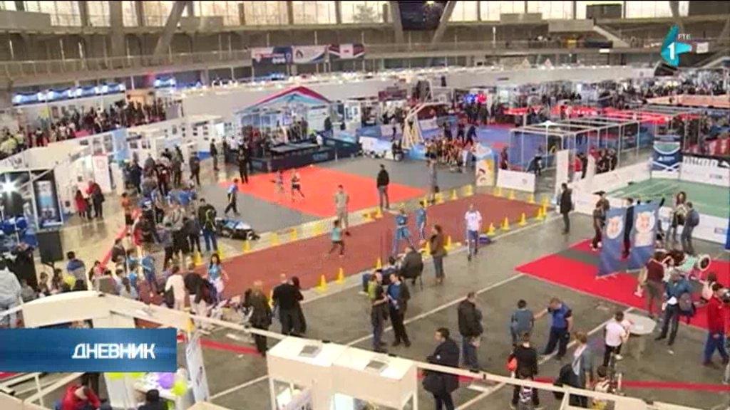 Ispunjen osnovni cilj Sajma - povezivanje mladih sa vrhunskim sportistima