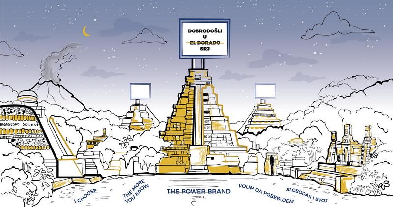 Istorija razvoja OOH oglašavanja u Srbiji #7: Dobro došli u El Dorado – OOH 90-ih