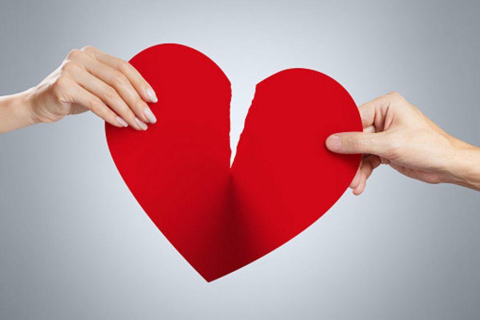 Istraživanja pokazala: Pred Dan zaljubljenih za trećinu više raskida