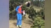 Italija: Dvanaestogodišnji dečak u šetnji na pikniku i neočekivani pratilac