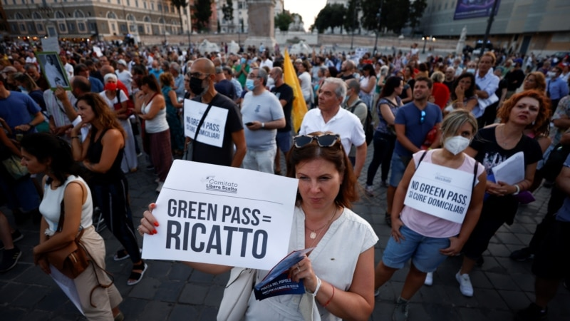 Italija uvodi zelenu propusnicu kao potvrdu imuniteta protiv korone
