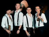 "Italijanska grupa ""40 Fingers"" nastupa u Leskovcu"