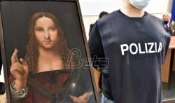 Italijanska policija našla ukradenu sliku Leonarda da Vinčija