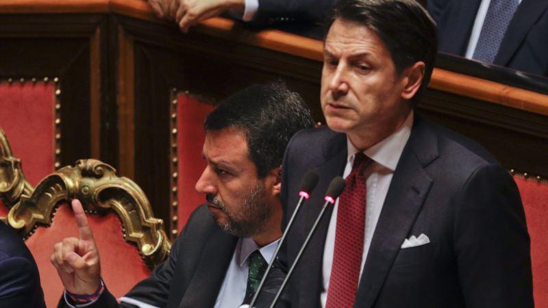 Italijanski premijer Đuzepe Konte podneo ostavku