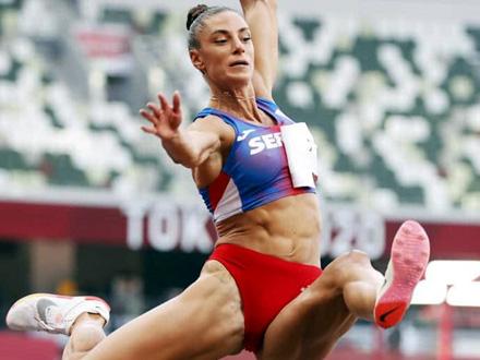 Ivana Španović bez medalje u Tokiju, zlato za Mihambo
