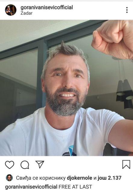 Ivanišević pobedio koronu: Uvek sam bio nezgodan u petom setu