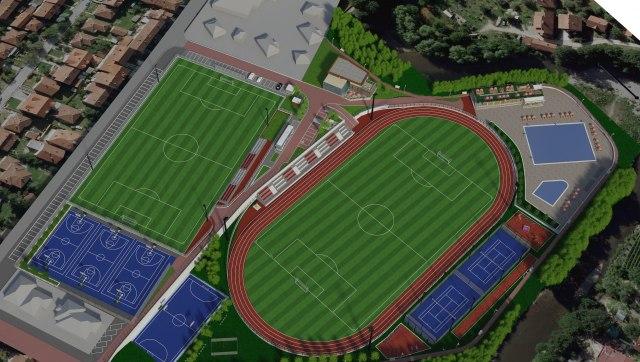Ivanjica konačno dobija savremeni Sportsko-rekreativni centar i bazen FOTO