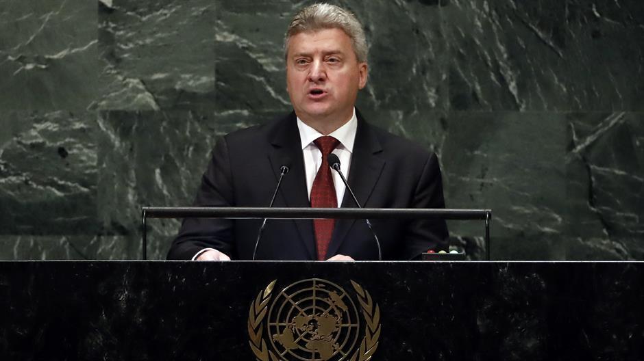 Ivanov u UN pozvao Makedonce da bojkotuju referendum