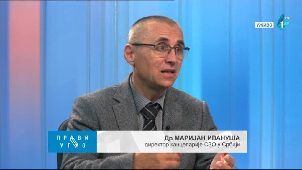 Ivanuša: Srbija četvrta po broju novozaraženih