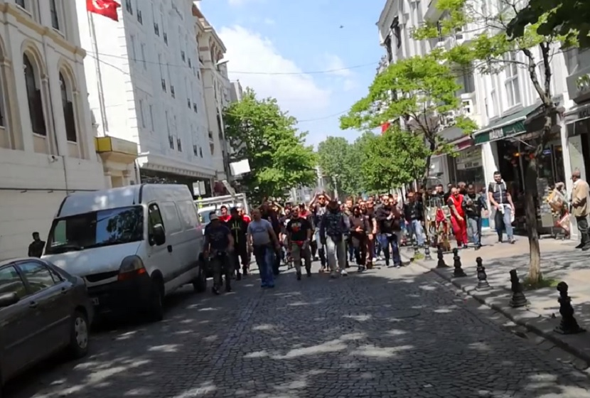 """Ivković Marko, Ivković Marko"" grmelo na ulicama Istanbula (VIDEO)"