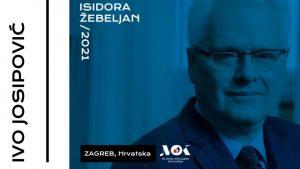 Ivo Jospović u žiriju takmičenja koje nosi ime Isidore Žebeljan
