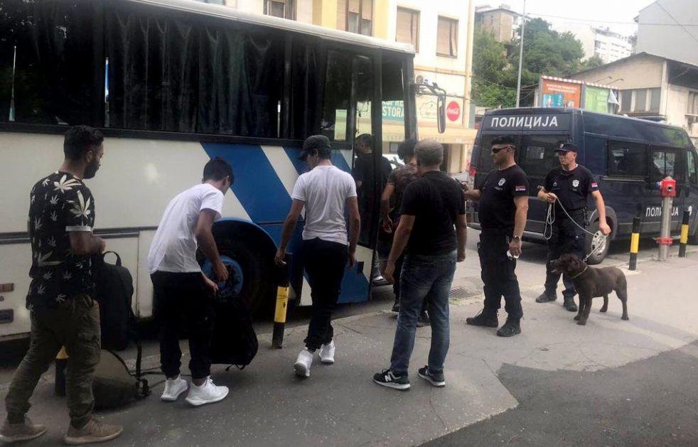 Iz Beograda 90 ilegalnih migranata sprovedeno u Prihvatni centar u Prešvu