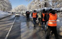 Podršku Lokalnom frontu za pešačenje od Kraljeva do Beograda pružilo deset organizacija