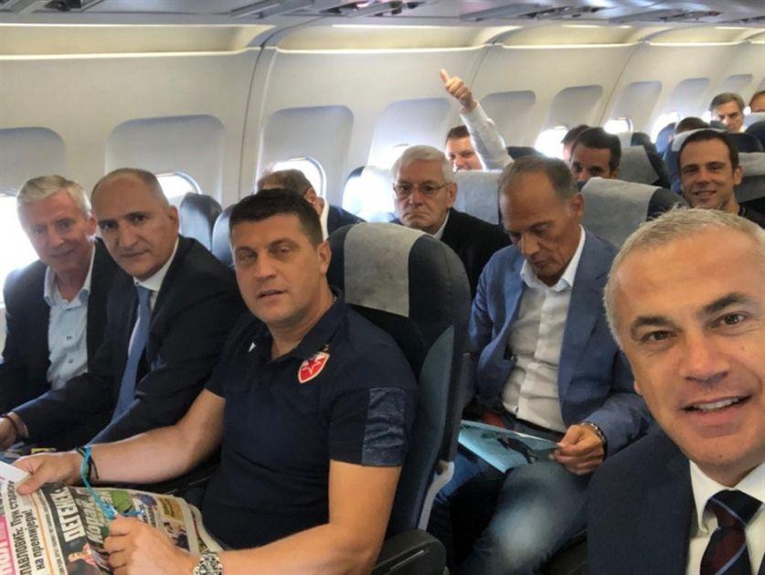 Iz uprave Partizana u ZVEZDIN avion (FOTO)