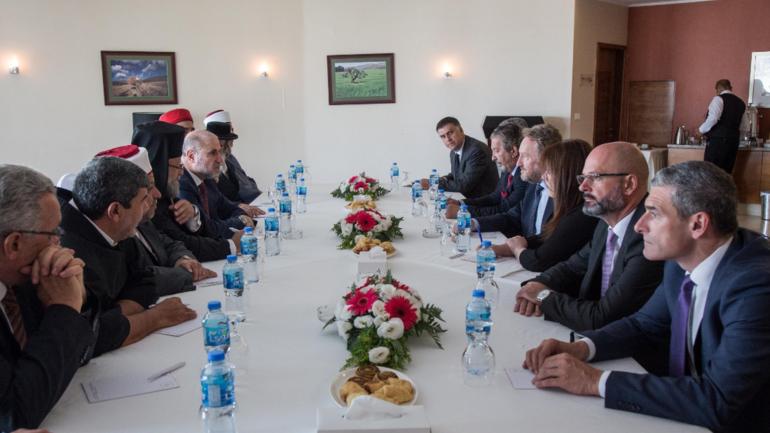 Izetbegović razgovarao sa vjerskim liderima Palestine