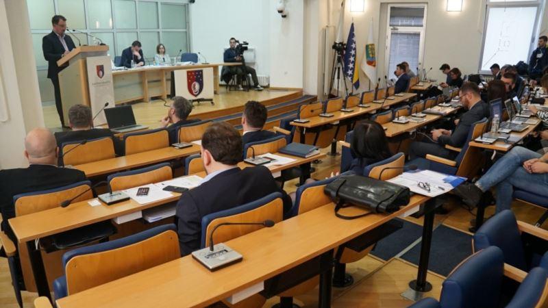 Izglasano nepovjerenje Vladi Kantona Sarajevo