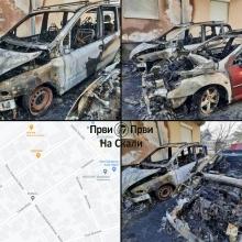 Izgorela tri automobila u Kragujevcu