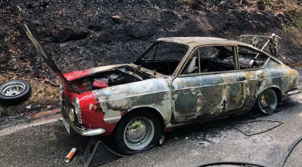 Izgoreo Fiat vredan 150.000 evra
