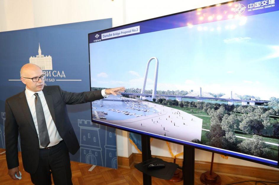 Izgradnja četvrtog mosta u Novom Sadu možda već krajem godine