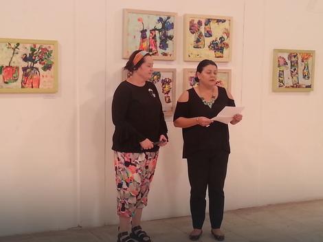 Izložba Festival u vrtu boja u Nišu