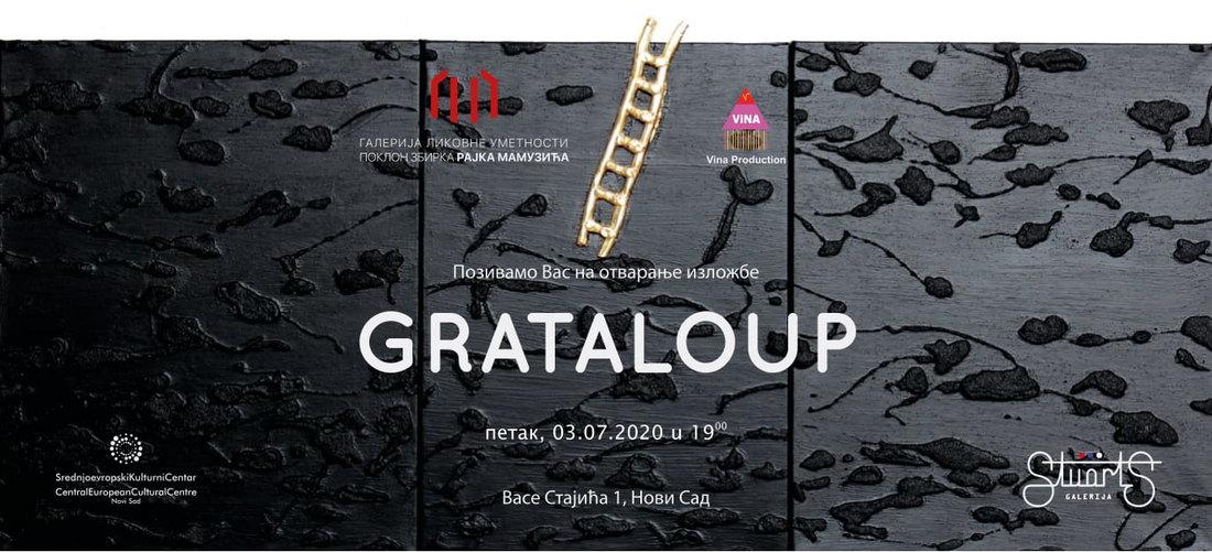 Izložba Grataloup u Galeriji likovne umetnosti poklon zbirci Rajka Mamuzića