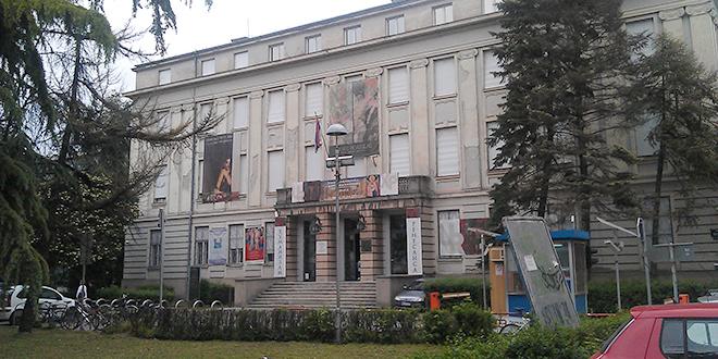 Izložba Muzeja savremene umetnosti Republike Srpske u Galeriji Matice srpske u Novom Sadu