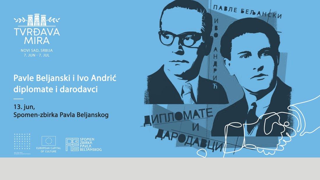 Otvorena izložba Pavle Beljanski i Ivo Andrić u Novom Sadu