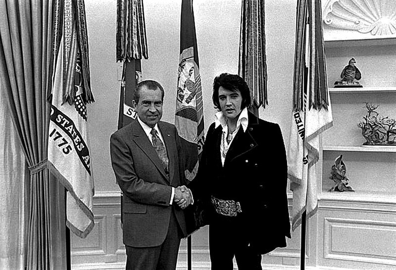 Izložba odnosa YU-SAD: Nikson, Broz, Ford, Barton, astronauti,...