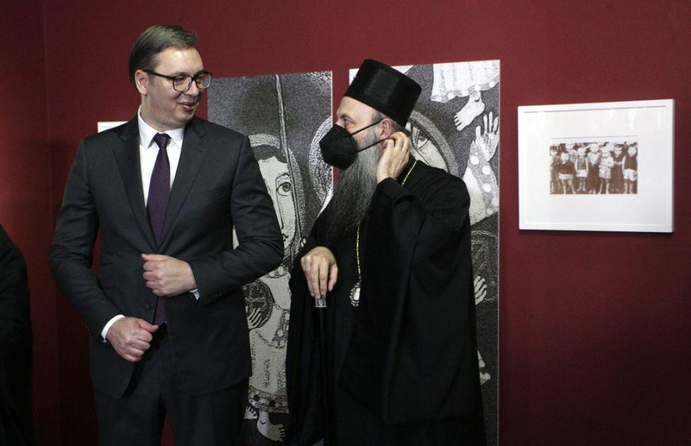 Izložba posvećena žrtvama Jasenovca - Vučić: Biti Srbin značilo je biti suvišan, Patrijarh: Zverstava bi se postidele i životinje