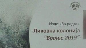 "Izložba radova Likovne kolonije "" Vranje 2019″"