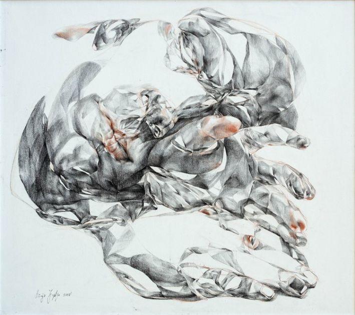 Izložba slika Spavači autorke Đerđi Ačaji u Galeriji SULUV