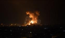 Izrael gadjao 130 ciljeva u pojasu Gaze kao odgovor na granatiranje Hamasa, mobiliše 5. ...