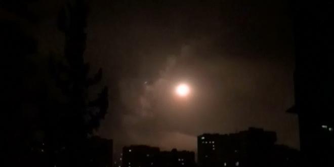 Izrael gađao projektilima glavni grad Sirije