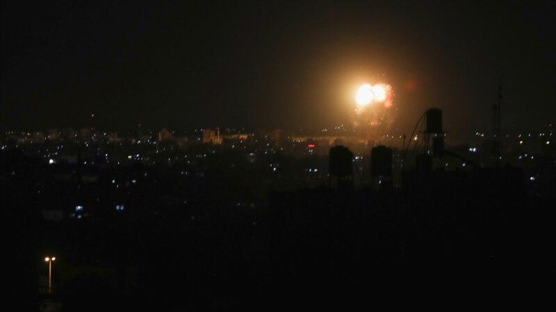 Izrael izveo vazdušne udare na Gazu nakon što je Hamas pustio zapaljive balone