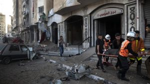 Izraelski borbeni avioni srušili najveću višespratnicu u gradu Gazi, Palestina raketirala Tel Aviv i Beršebu