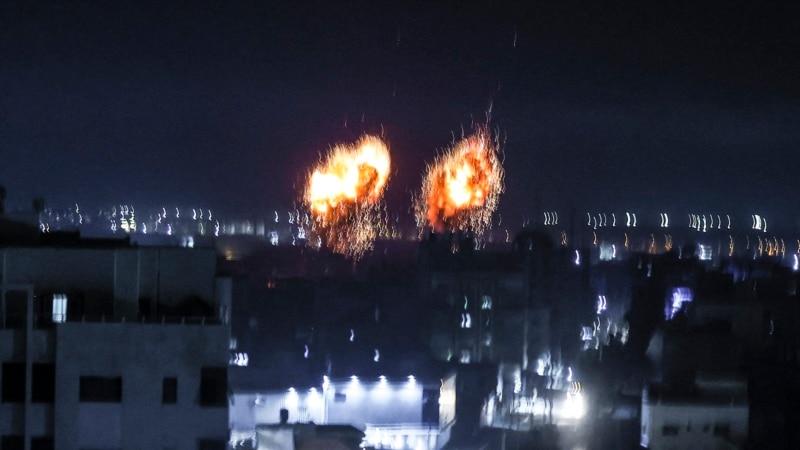Izraelske rakete ponovo gađaju vojne objekte Hamasa