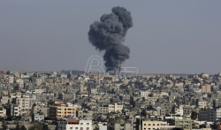 Izraelski borbeni avioni srušili najveću višespratnicu u gradu Gazi