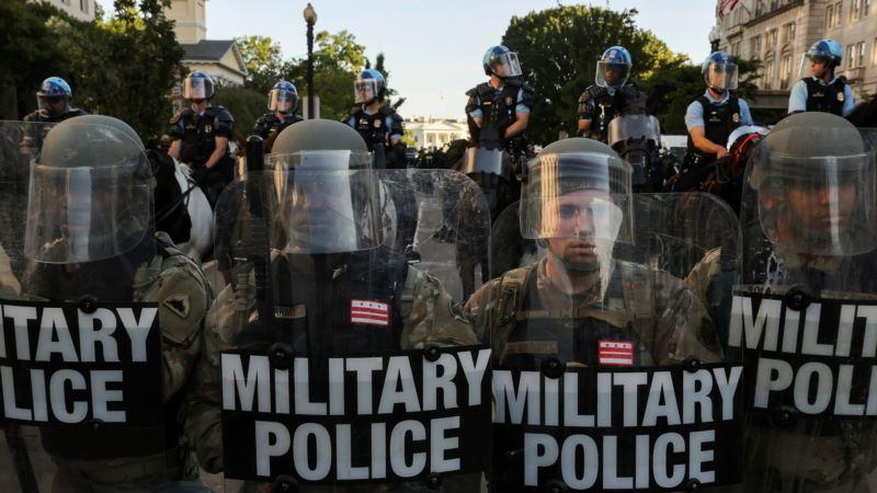 Tramp: Ne verujem da će biti potrebe za angažovanjem vojske zbog protesta