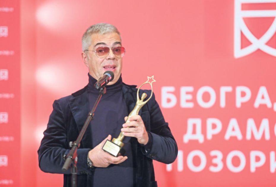 JAGOŠU MARKOVIĆU PRIZNANJE TATJANA LUKJANOVA: Ovo mi je prva ženska nagrada
