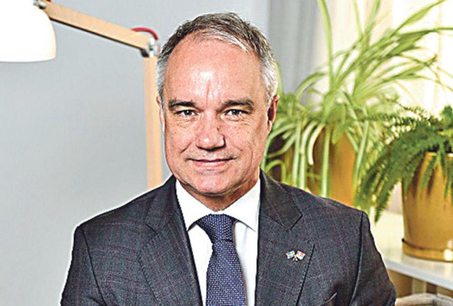 JAN LUNDIN, AMBASADOR ŠVEDSKE U BEOGRADU, ZA KURIR: EU nije bila spremna za borbu protiv korone