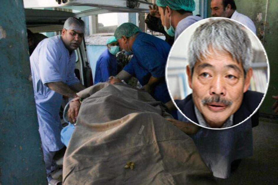 JAPANSKI DOKTOR I HUMANITARAC UBIJEN U AVGANISTANU: Nakamuru ubili teroristi, svet se oprašta poresnim porukama (FOTO)