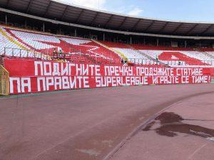 JASNA PORUKA SA STADIONA 'RAJKO MITIĆ': 'Podignite prečku, produžite stative' (FOTO)
